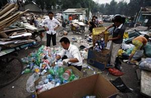 мусор в китае