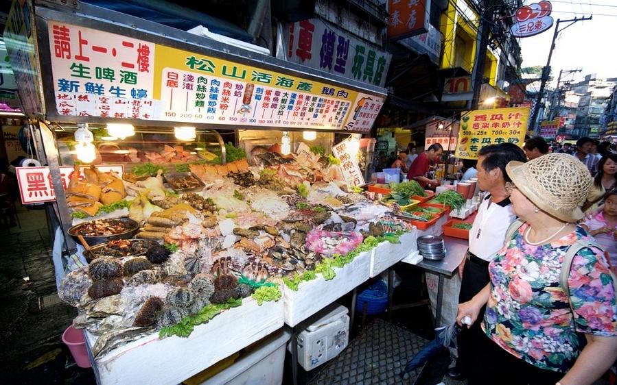 Miaokou, ночной рынок, тайвань, килун, taiwan, keelung