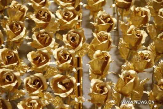 золотые розы, китай