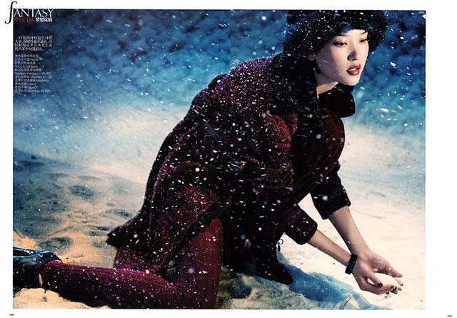 Du Juan - Vogue China December 2010 - 2