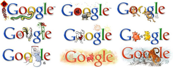 google, chinese new year