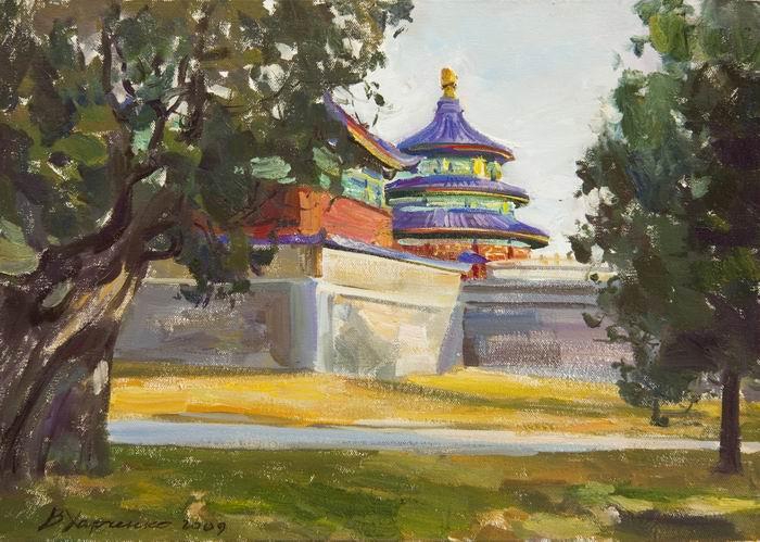 харченко, китай, храм неба