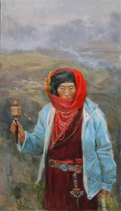 харченко, китай, тибетка