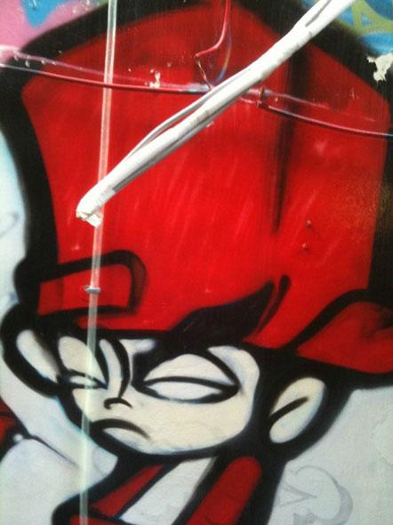 граффити, китайские граффити