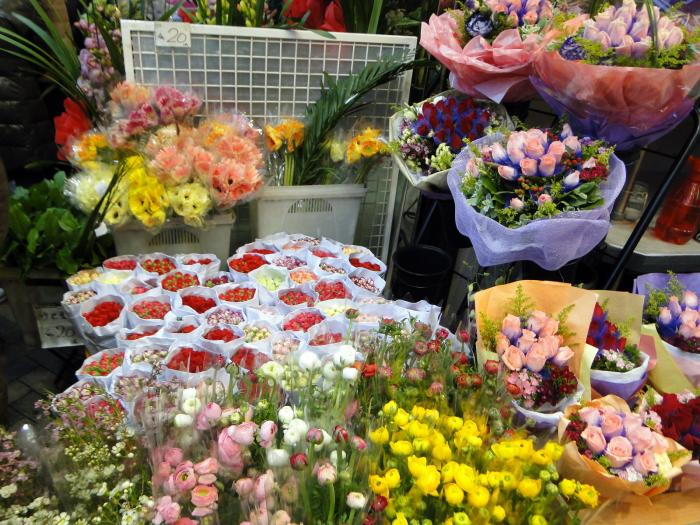 цветы, китайские цветы, цветочный рынок, цветочный рынок гонконг, flower market hong-kong