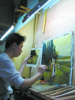 дафэнь, китайские картины