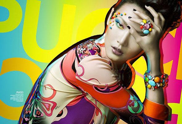 Gwen Lu - (Malaysia) GLAM March 2011 -10b