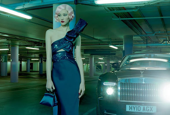 Liu Wen - Vogue Italia February 2011 - 3
