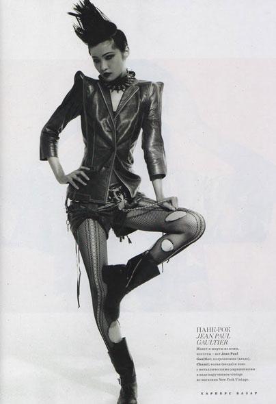 Wang Xiao - Harper's Bazaar Russia