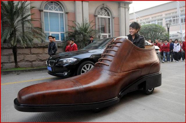 shoe car, ботинок машина, shoe car china, ботинок машина китай