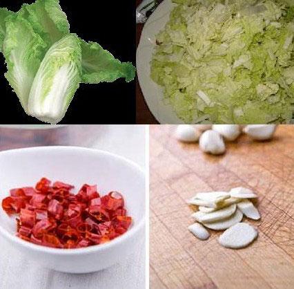китайские рецепты, капуста