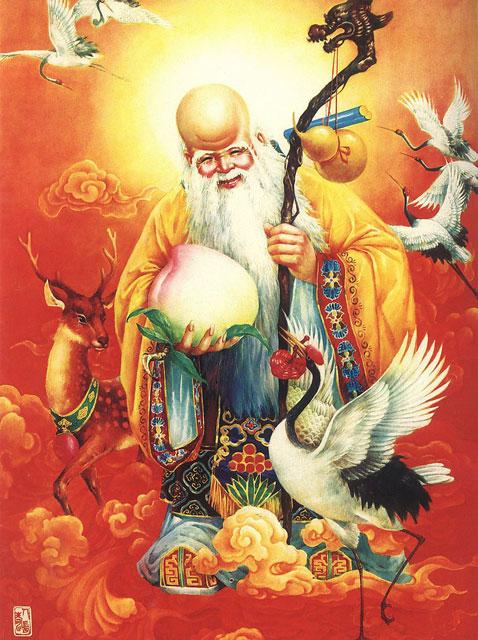 божество долголетия, шоусин