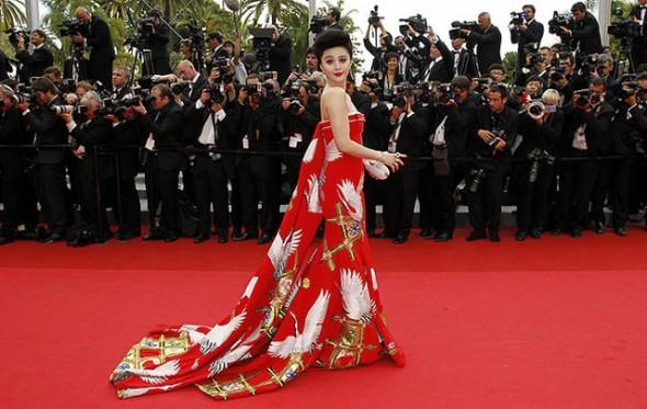 Фань бинбин платья