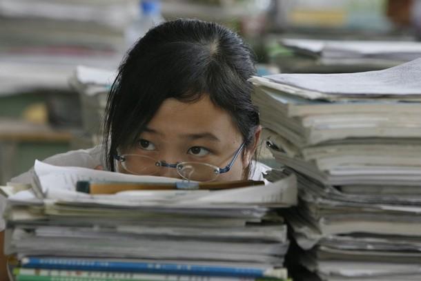chinese students, 中国学生, китайские студенты