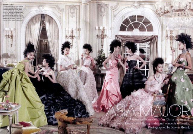 азиатские модели