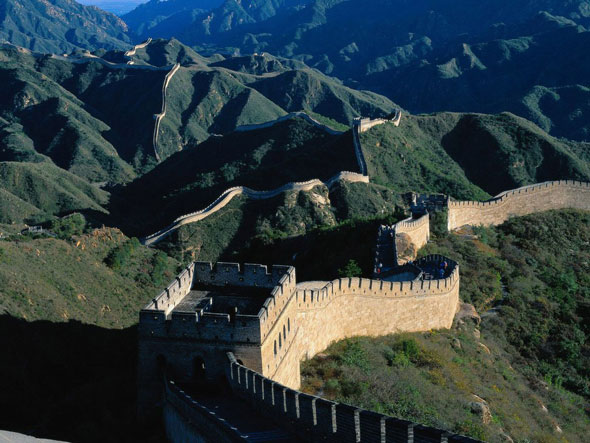китайская стена, great chinese wall, 长城