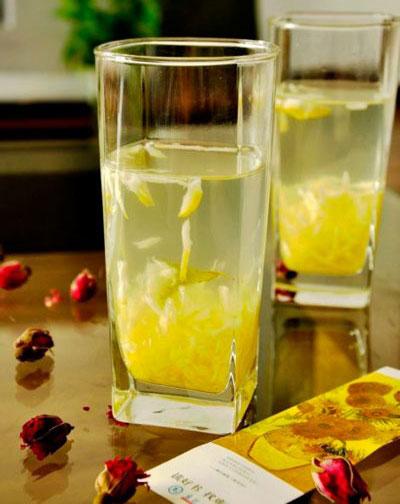 лимон, мед