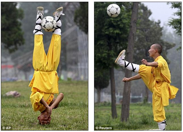 wushu kung fu football