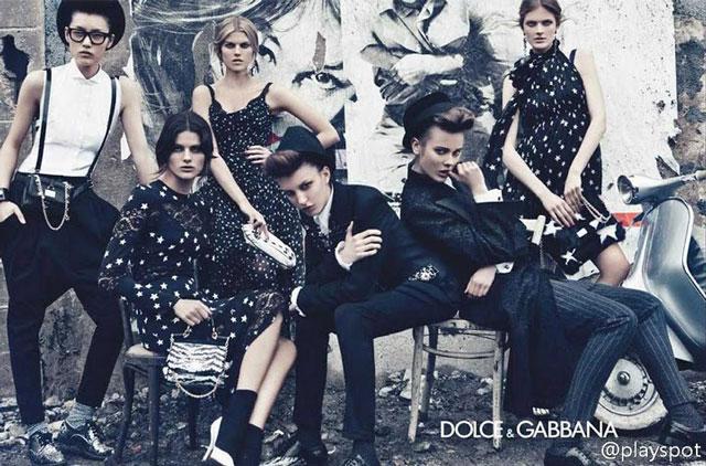 Liu Wen - Dolce & Gabbana Fall 2011 - 2