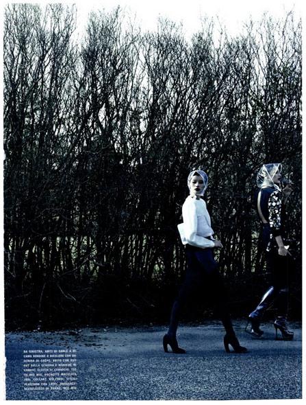 Ming Xi - Vogue Italia August 2011 - 1