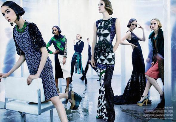 Sun Fei Fei - Vogue US - Sept 2011 - 5