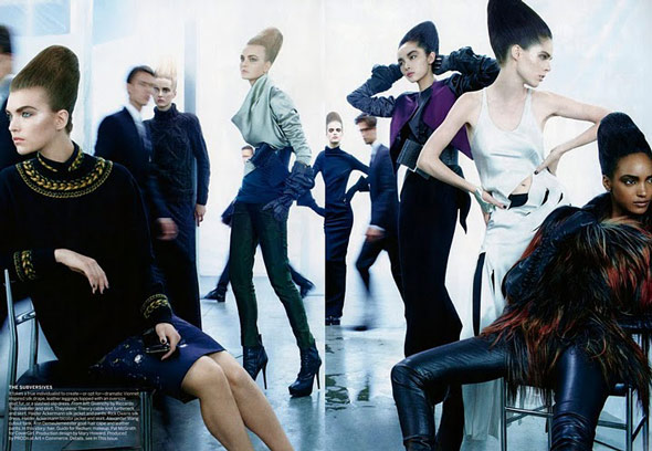 Sun Fei Fei - Vogue US - Sept 2011 - 6