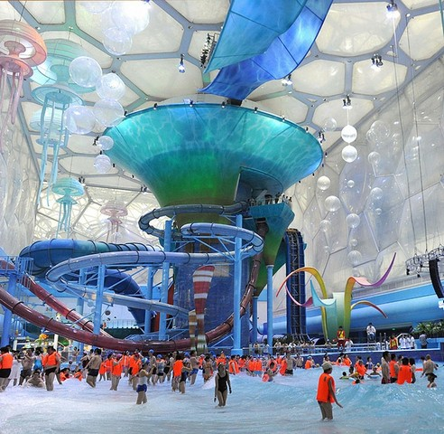 beijing water cube, водный куб, пекинский водный куб, водный куб пекин