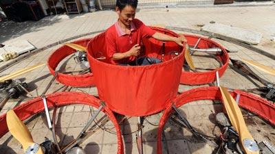 Chinese-flying-saucer, shu mansheng