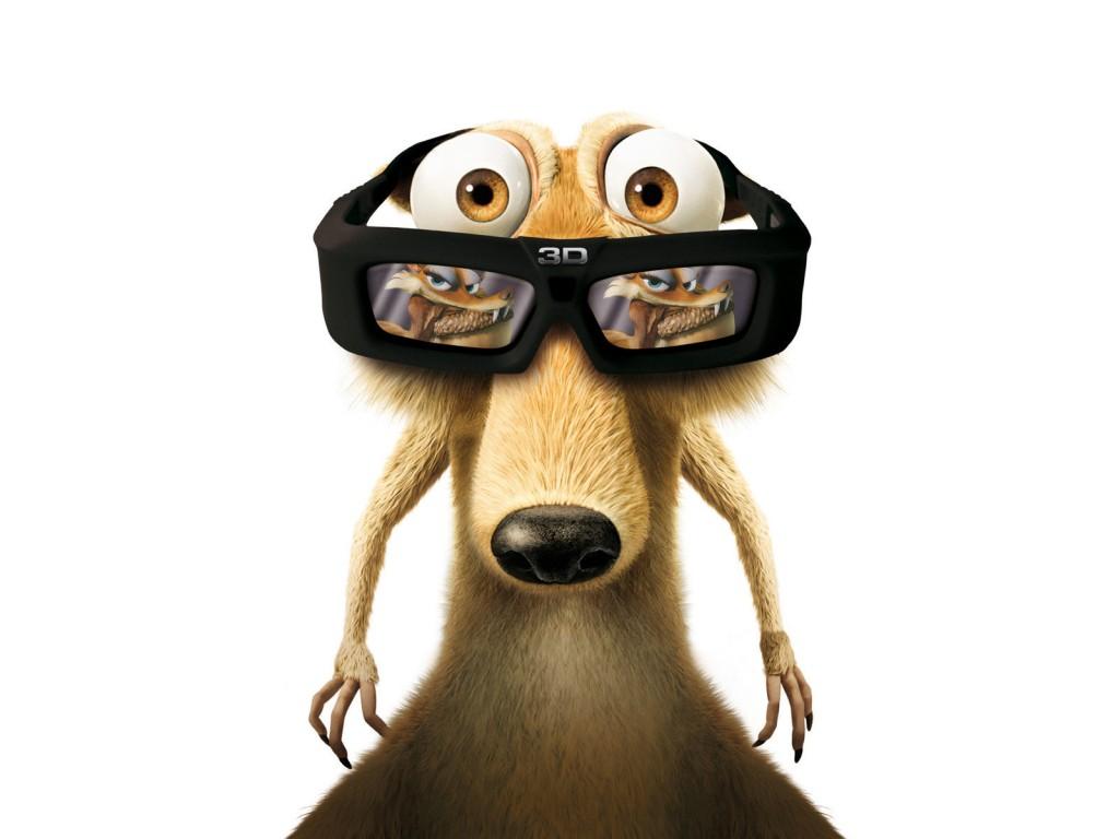 белка в очках