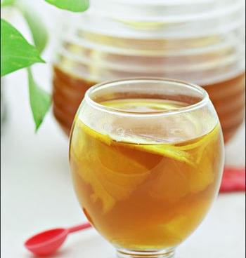 рецепт чая, зимний чай, цитрусовый чай