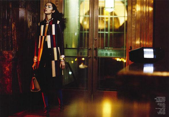 Sun Fei Fei, Vogue China, китайские модели, Сунь Фэй Фэй, китайские глянцевые журналы, новогодние фотосессии, китайские фотосессии