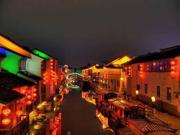 Suzhou, Shan Tang Jie, сучжоу
