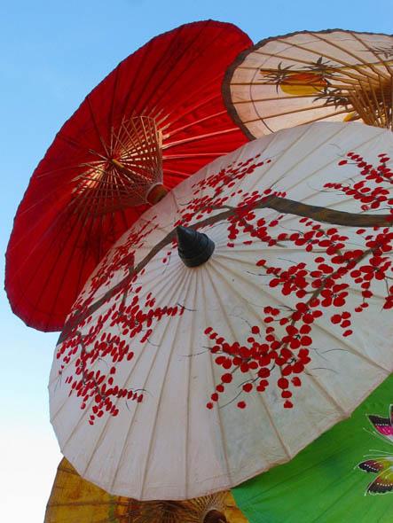 зонтик, китайский зонтик