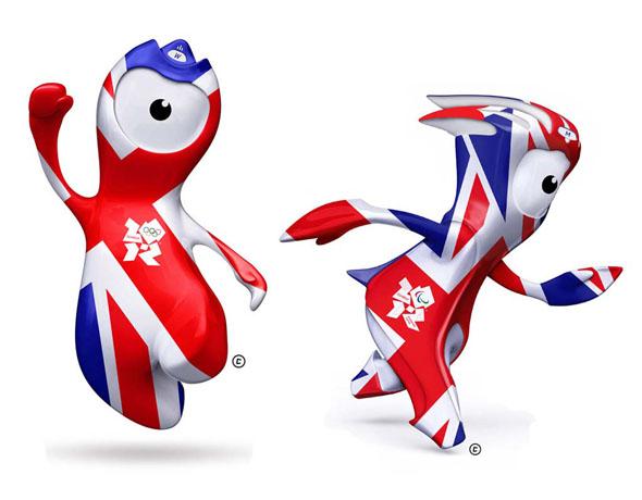London Olympics 2012 mascots British