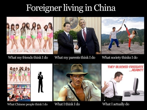 foreigner in china