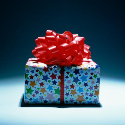 подарок, present, gift