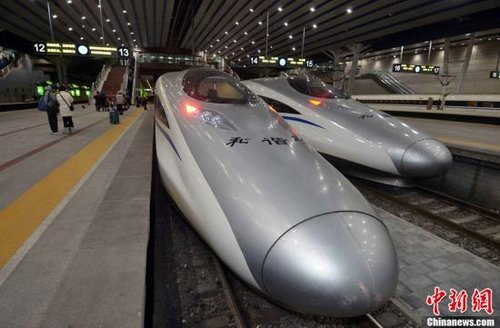 высокоскоростная железная дорога китай
