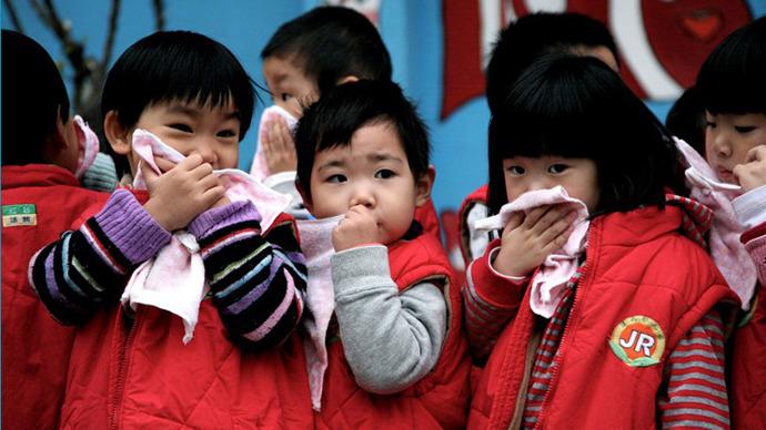 chinese kids, китайские дети