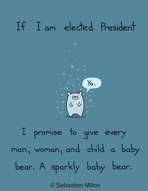 promise, baby bear