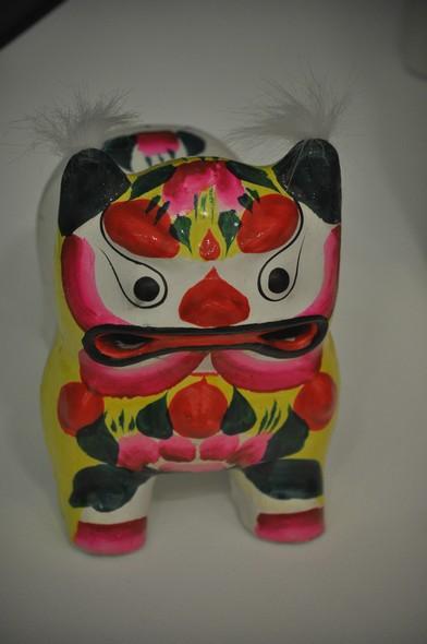 Рычащий тигр. 1980-е. Гаоми, пров. Шаньдун