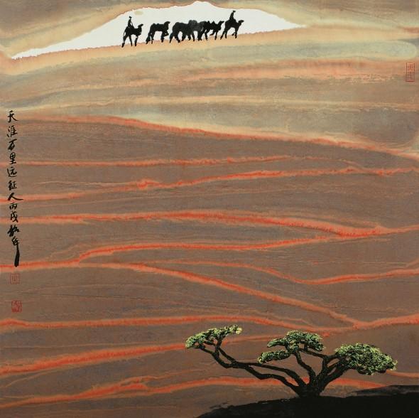 китайская живопись, чжоу шаохуа, Zhou Shaohua