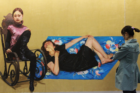 yu hong, yu hong beijing, china contemporary art, china modern art, china paintings