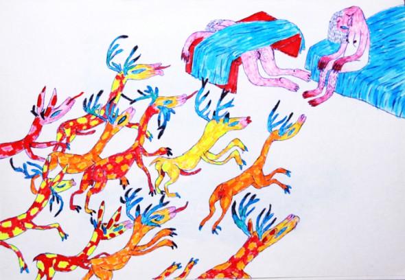 Yuan Xiaopeng, Yuan Xiaopeng illustrator, china contemporary art, china modern art