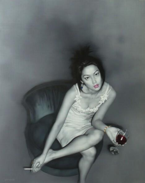He Sen, He Sen paintings, china contemporary art, china modern art