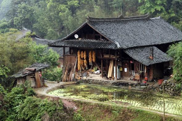 langde miao village, kaili, 郎德,苗,凯里, Guizhou, мяо, народность мяо