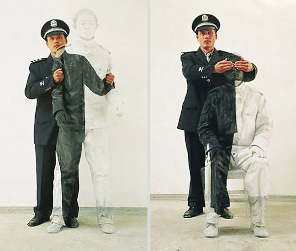Liu Bolin, camoflage, china contemporary art, china modern art