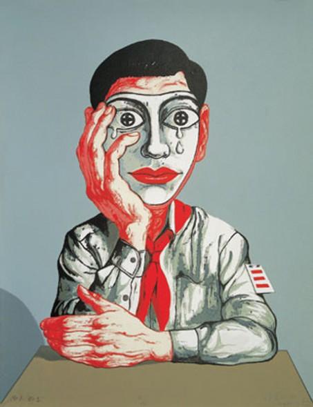 zeng fanzhi, zeng fanzhi paintings, china contemporary art, china modern art