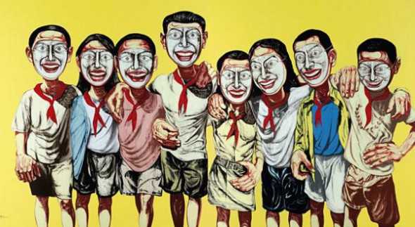 zeng fanzhi, zeng fanzhi paintings, china contemporary art, china modern art