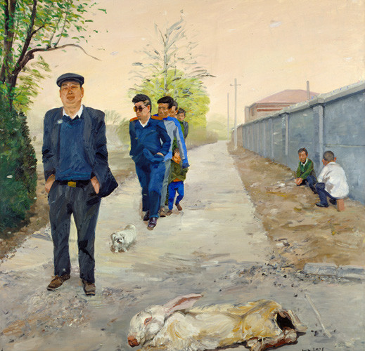 Liu Xiaodong, liu xiaodong beijing, china contemporary art, china modern art