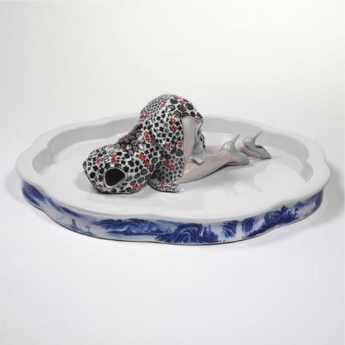 Liu Jianhua, liu jianhua porcelain , liu jianhua sculpture installation, china modern art, china contemporary art